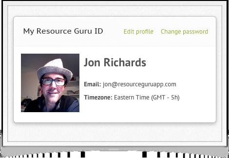 Resource Guru ID