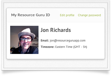 Resource Guru ID